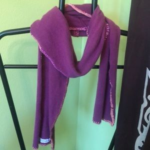 Polly Janes cashmere scarf. 65 Inches long
